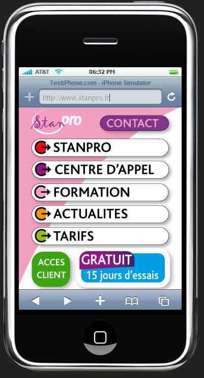 site smartphone stanpro plateforme tlphonique mdicale lorraine france